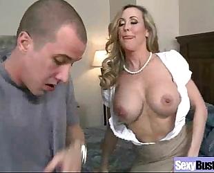 (brandi love) horny white wife with large marangos have a fun hardcore sex mov-08