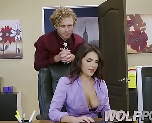 The office floozy valentina nappi becomes difficult