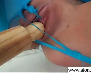 Naughty amateur wife (janice griffith) use sex things untill climax vid-14