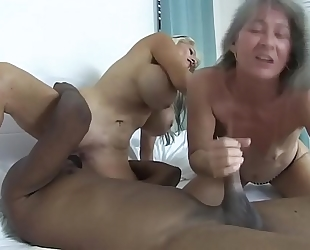Two doxies and a bbc sally d'angelo leilani lei