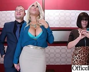 Sex scene in office with wench sexy breasty slutwife (bridgette b) video-03