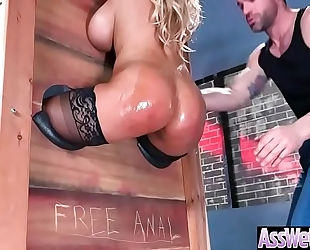 Gorgeous wife (bridgette b) with oiled large gazoo acquire anal sex vid-13