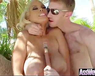 (bridgette b) oiled dirty slut wife with large wazoo drilled analy video-06