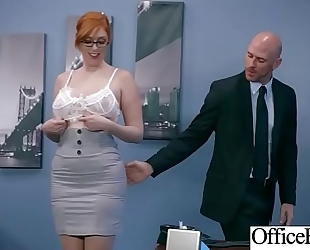 (lauren phillips) office slutty wife with round large marangos have a fun hard sex movie-18
