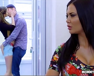 Bringing stepsiblings closer jointly - jasmine jae and stella cox