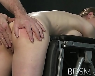 Youporn - s&m xxx juvenile large breasted sub acquires hard anal from her slavemaster