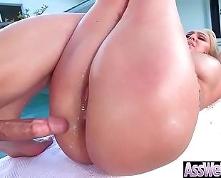 Huge wazoo hawt slutty wife (nina kayy) love deep hard anal intercorse video-25