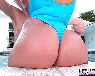 (nina kayy) superb Married slut with large round arse love unfathomable anal sex clip-27