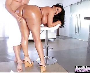 (kiara mia) massive hot booty slutty wife acquire oiled and acquire hard anal nailed vid-15