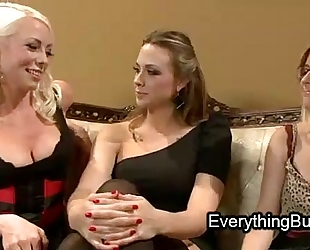 Babe anal mistreated by 2 lesbo chicks
