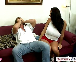 Sinfully nanny gianna michaels taking weenie