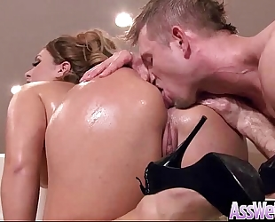 Anal hard gangbang on livecam with large butt curvy hotwife (klara gold) vid-19