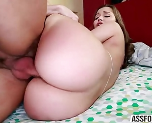 Gorgeous sweetheart dani daniels goes hardcore sex with her hunk bf