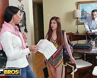 Bangbros - flunking step daughter acquires a golden rachel starr