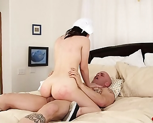 Yhivi acquires her breathtaking body screwed