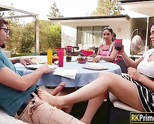 Skyla novea screwed by her mom's fresh bf