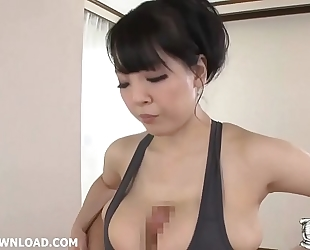 Japanese tit fucking with her huge large milk shakes a favourable fellow – hubxxxporn.com