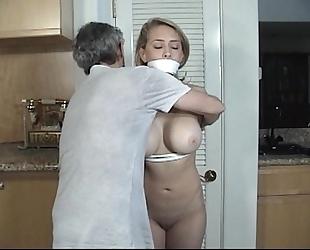 Door to door wife tied and gagged part two