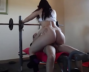 Pamela working out and getting drilled. jav246