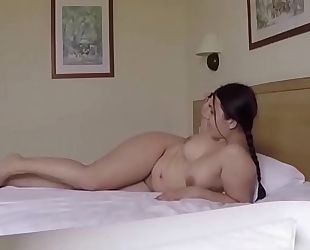 Taking pictures of her feet and fucking her. san012