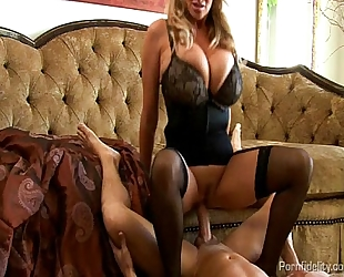 Huge titted wifey screwed nice by her spouse