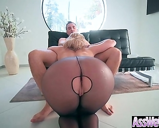 Big a-hole black cock sluts (brooklyn chase) receive oiled all over and hard anal nailed clip-13