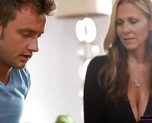 Halle von & julia ann - mommy shows her daughter how to fuck
