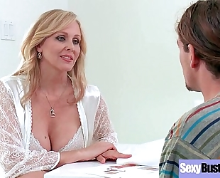 Big boobs floozy white women (julia ann) like hard style intercorse movie-18