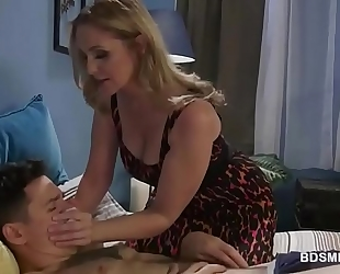 Julia ann dominates over lascivious stud