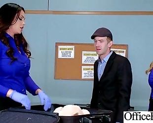 Office white women (alison tyler & julia ann) with large round melon meatballs like sex mov-04