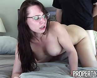 Propertysex - extremely motivated real estate agent orgasmic sex with client