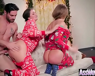 Deep hard anal sex with ravishing large round a-hole housewife (allie haze & harley jade) video-04