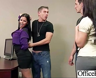 (diamond kitty) hot breasty office wife gangbang hardcore style video-12