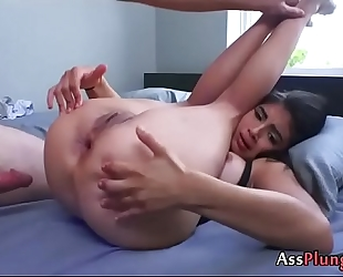 Anal wench michelle martinez works hard for his spunk flow