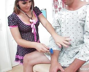 Horney nurses with natasha good