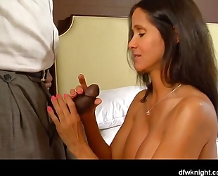 First bbc creampie