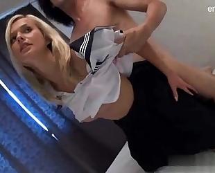 Busty gf brutal anal