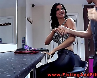 Fisting jasmine jae in this german movie scene