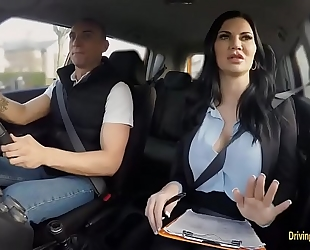 Busty instructor jasmine jae cookie rammed