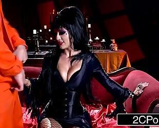 Elvira the domina - midnight madness w/ charming horror hostess katrina jade