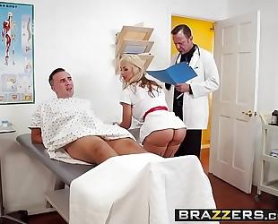 Brazzers.com - doctor adventures - cum for nurse sarah scene starring sarah vandella and keiran lee
