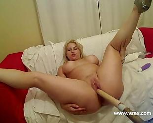 Pornstar sarah vandella live sex machine cam