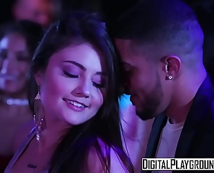 Digitalplayground - cuties go clubbing adria rae and natalia starr and tony martinez