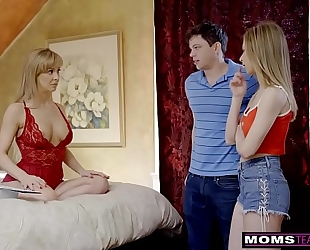 Momsteachsex - breasty milf acquires hawt mother's day trio! s8:e4