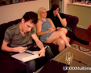 Viagra prank brother copulates step sisters fifi foxx and shelby paris