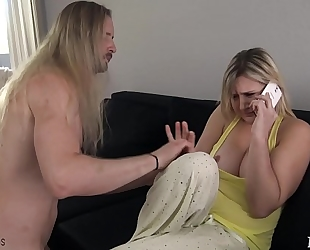 Mom acquires drilled by sleepwalking son - fifi foxx & dong ninja