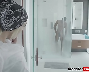 Tiffany watson getting her wet crack pounded hard by a monster dark dick