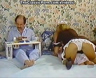 Karen summer, nina hartley in porn classic video with a concupiscent maid