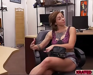 Busty wench harlow harrison receives drilled from behind
