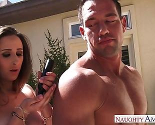 Sexual ashley adams drink cock juice outdoors